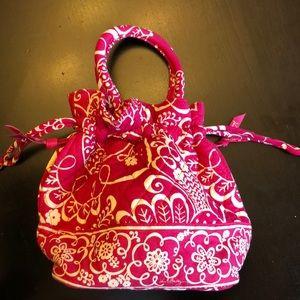 Vera Bradley Twirly Birds Pink Bag Purse